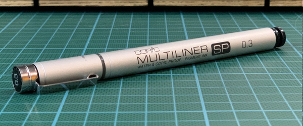 Tools I Love #1: Copic Multiliner SP